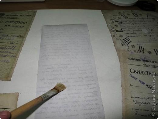 Нашла старую отцовскую папку с документами. Сокровища!!!Сначала хотела их все прямо на стенку в кухне наклеить(обои надо менять), но здравый смысл в лице моей старшей дочери победил. Вот, родились часы. фото 11