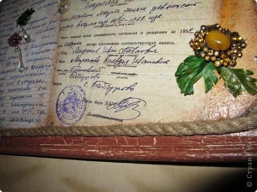 Нашла старую отцовскую папку с документами. Сокровища!!!Сначала хотела их все прямо на стенку в кухне наклеить(обои надо менять), но здравый смысл в лице моей старшей дочери победил. Вот, родились часы. фото 20
