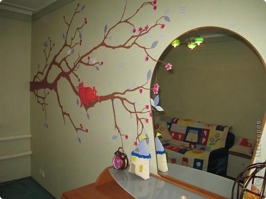 """Моя старшая дочь сказала: """"Хочу, чтобы были деревья, зелень и цветы""""... Боюсь она имела ввиду не то что вышло в итоге. фото 1"""