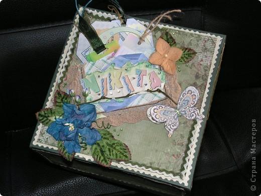 """Подарочная коробочка """"Детские воспоминания"""" фото 1"""