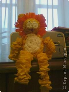 Похожего львёнка я видела здесь: http://stranamasterov.ru/node/49867  Спасибо автору!!! фото 2