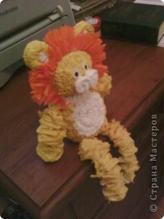 Похожего львёнка я видела здесь: http://stranamasterov.ru/node/49867  Спасибо автору!!! фото 1