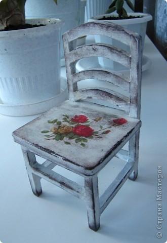 Кукольный стульчик фото 1