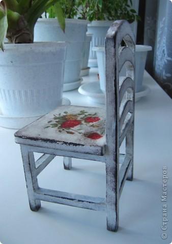 Кукольный стульчик фото 2