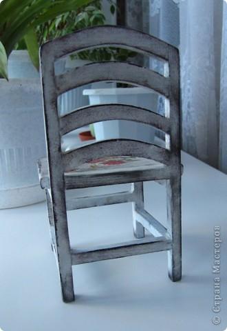 Кукольный стульчик фото 3