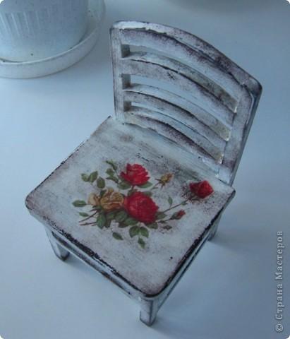 Кукольный стульчик фото 4