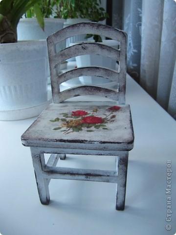 Кукольный стульчик фото 5