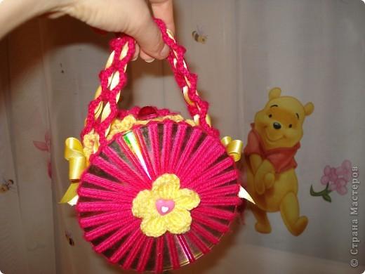 Вот такая сумочка у меня получилась для моей 5-летний подружки!  фото 2