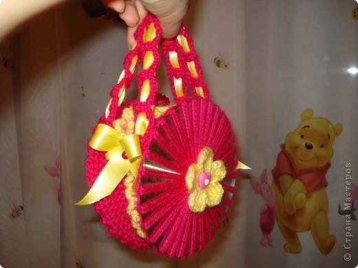 Вот такая сумочка у меня получилась для моей 5-летний подружки!  фото 1