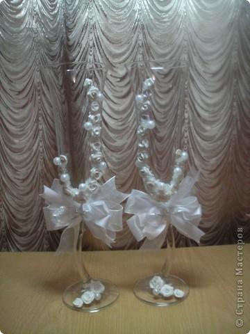 Бокалы для салона Кто будет счастливым обладателем  не знаю. фото 1