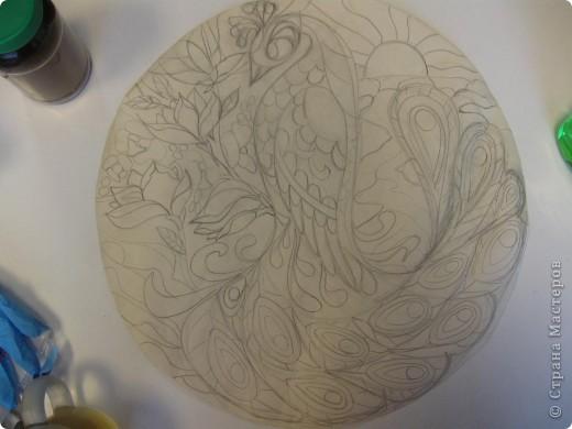 Зеркальное панно Бабочка и Солнышко фото 7