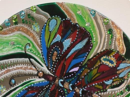 Зеркальное панно Бабочка и Солнышко фото 2