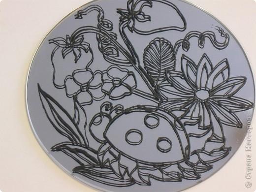 Зеркальное панно Бабочка и Солнышко фото 6