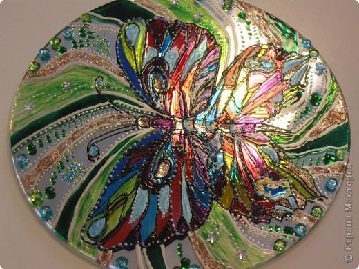 Зеркальное панно Бабочка и Солнышко фото 3