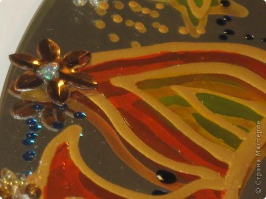 Зеркальное панно Бабочка и Солнышко фото 5