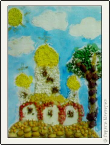 """Коллективная работа учеников прогимназии """"ПЕРЕСВЕТ"""", 40*50, педагог Давыдова И.В. 1-4 классы. Эту работу мои ученики подарили  на пасху Владыке балтийскому Серафиму. фото 24"""