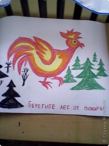 Пластиином раскрашивали нарисованный на оргстекле рисунок фото 2