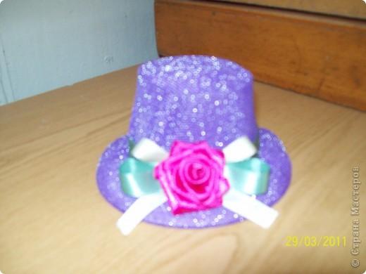 Алексей сшил эту шляпу в подарок маме. фото 7