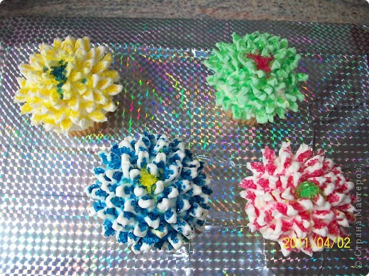 Маффины- хризантемы. фото 10