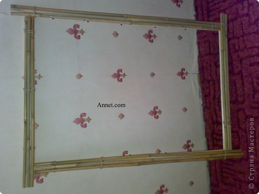 Друг привез картину из Тайланда .. но наши рамки  не подходили по размеру.. И я вызвалась помочь)!А вот и конечный результат! Я конечно извиняюсь за качество фото.. Но это мой первый мастер-класс)) фото 9