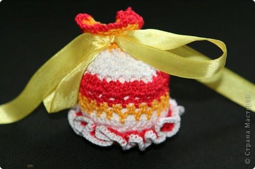 """Обвязанные крючком вареные яйца. Нитки """"Ирис"""".  (прошлгодние подарки) фото 7"""
