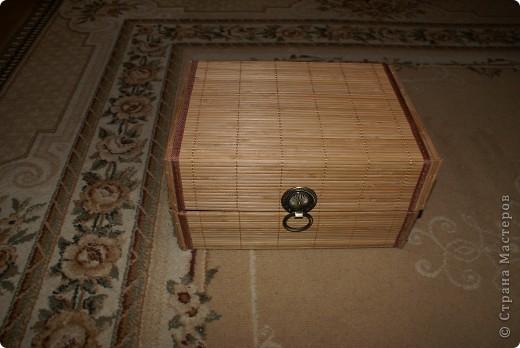 Коробка для рукоделия фото 1