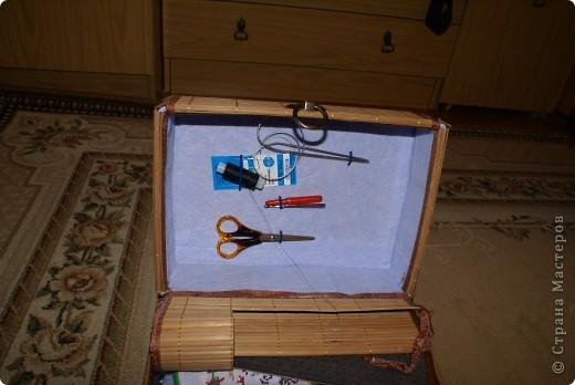 Коробка для рукоделия фото 2