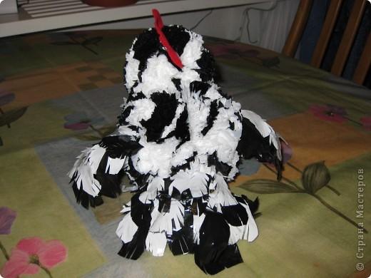 курочка-рябушка родилась из мусорных пакетов...Спасибо за идею Людмиле Васиной! фото 3