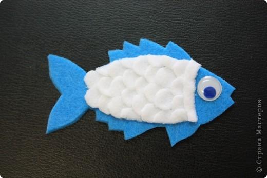 """Магниты """"Рыбки"""" из фетра и флиса мы с ребятами делали на праздник народов Севера для ярмарки-распродажи. Может кому-нибудь пригодится эта идея. фото 8"""
