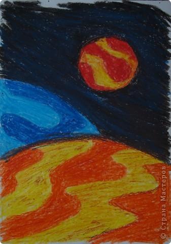 """Давали вместе с учителем музыки Дзиговской Н.К в лицее №36 открытый урок """"Космический пейзаж"""", посвященный первому полёту человека в космос. фото 1"""