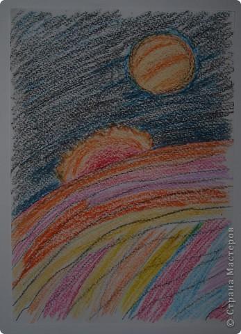 """Давали вместе с учителем музыки Дзиговской Н.К в лицее №36 открытый урок """"Космический пейзаж"""", посвященный первому полёту человека в космос. фото 5"""