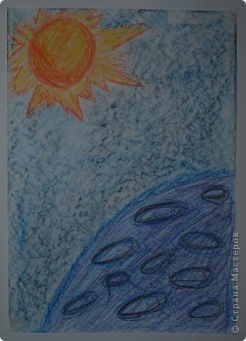 """Давали вместе с учителем музыки Дзиговской Н.К в лицее №36 открытый урок """"Космический пейзаж"""", посвященный первому полёту человека в космос. фото 6"""