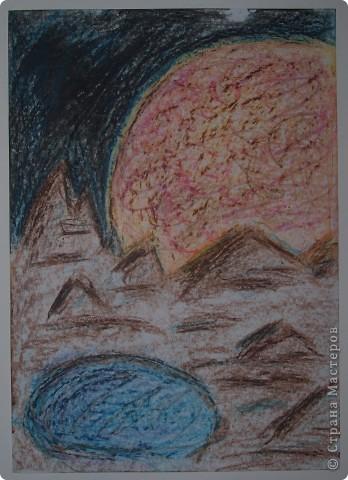 """Давали вместе с учителем музыки Дзиговской Н.К в лицее №36 открытый урок """"Космический пейзаж"""", посвященный первому полёту человека в космос. фото 3"""