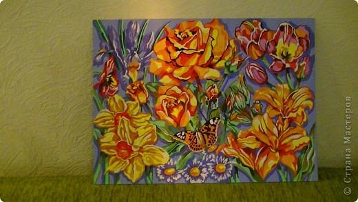 """картина""""цветы"""" фото 1"""