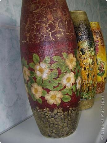 Купила в сетевом магазине стеклянные вазы по 120ре за шт. Надо украшать! фото 3