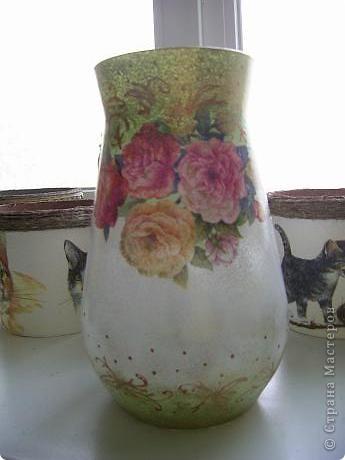 Купила в сетевом магазине стеклянные вазы по 120ре за шт. Надо украшать! фото 4