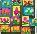 """Расцвели в саду  у нас цветочки. Работы учащихся 1 класса """"А"""" школы № 76 фото 1"""