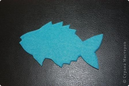 """Магниты """"Рыбки"""" из фетра и флиса мы с ребятами делали на праздник народов Севера для ярмарки-распродажи. Может кому-нибудь пригодится эта идея. фото 4"""