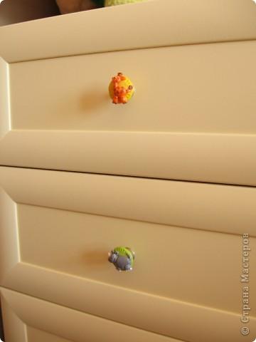 Милая фурнитура для мебели в детскую комнату фото 3