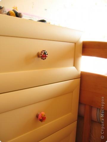 Милая фурнитура для мебели в детскую комнату фото 5