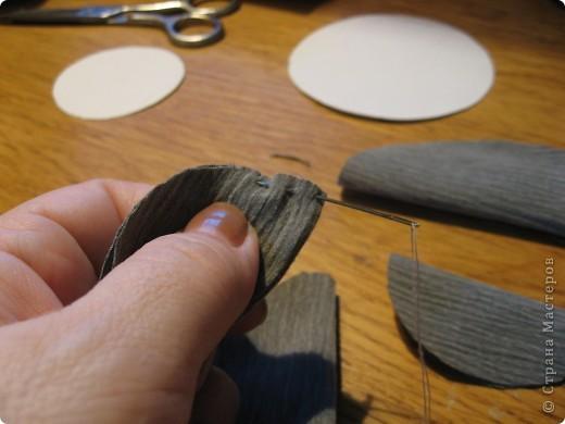 Бабочка из ткани (+ фотоМК) фото 4