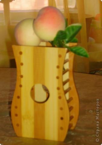 Ну вот такая вазочка получилась.... фото 2