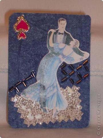 """Прочла, что АТС-ка имеет размер покерной карты. Никогда не видела покерные карты, может, они такие? Серия """"Предрассветные танцы"""". Каждая карточка - определенная масть. фото 2"""