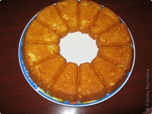 а вот и мой манный пирог