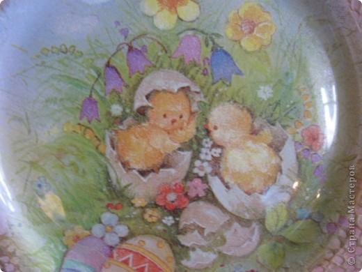 Тарелочка пасхальная фото 2