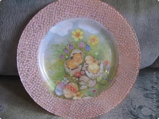 Тарелочка пасхальная фото 1