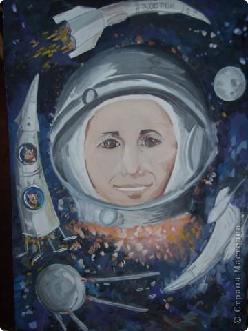 Полёт первого космонавта...
