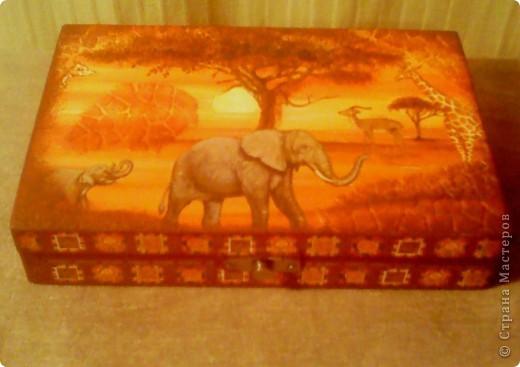 Вот такая шкатулка получилась из простой коробочки. Делали с дочкой, нужно было на урок труда сотворить проект. фото 11