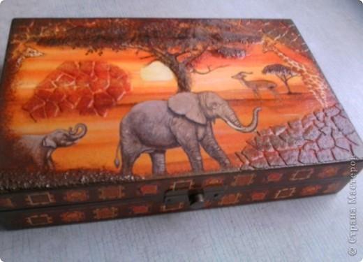 Вот такая шкатулка получилась из простой коробочки. Делали с дочкой, нужно было на урок труда сотворить проект. фото 2
