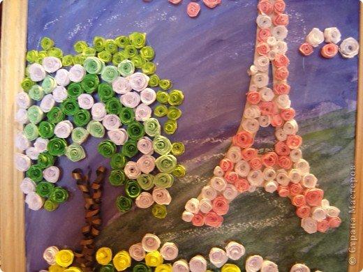 В прошлом году я была в Париже.  А забыть Париж невозможно!!! Так захотелось туда снова. Хотя бы на картине фото 3